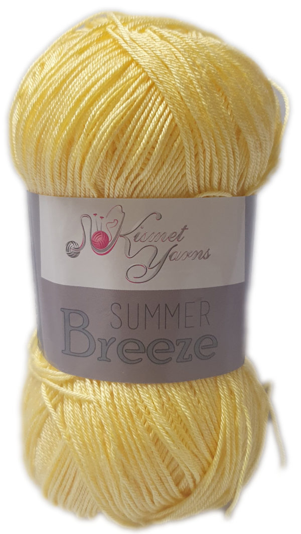 SUMMER BREEZE 100g-COL.689 PALE YELLOW 1