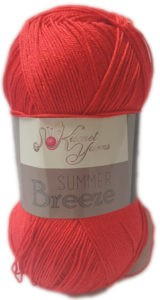 SUMMER BREEZE 100g-COL.693 RED 4