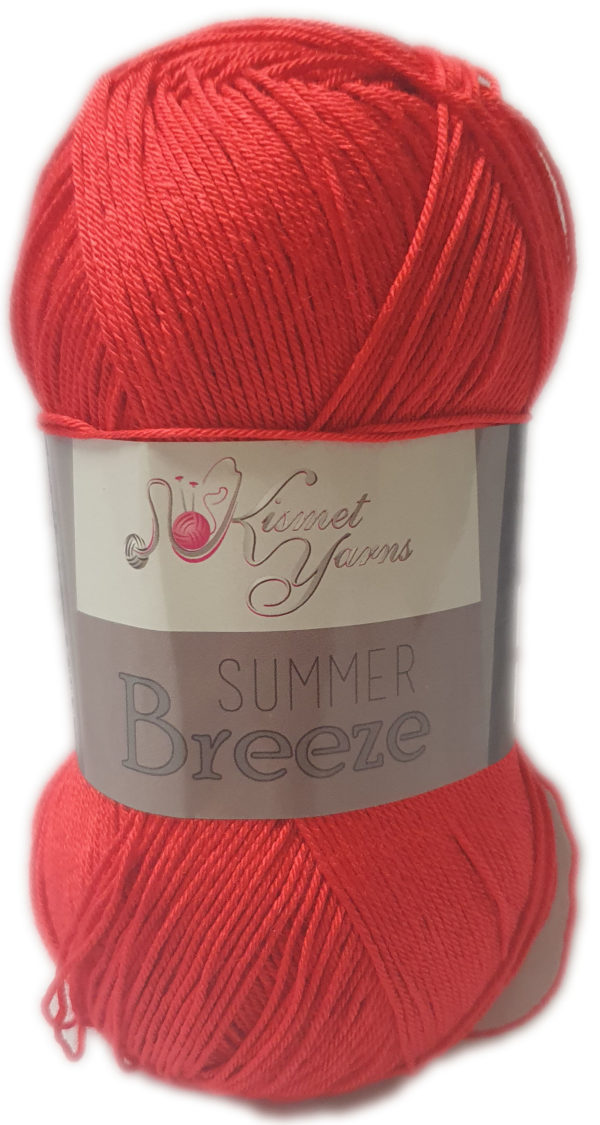 SUMMER BREEZE 100g-COL.693 RED 1