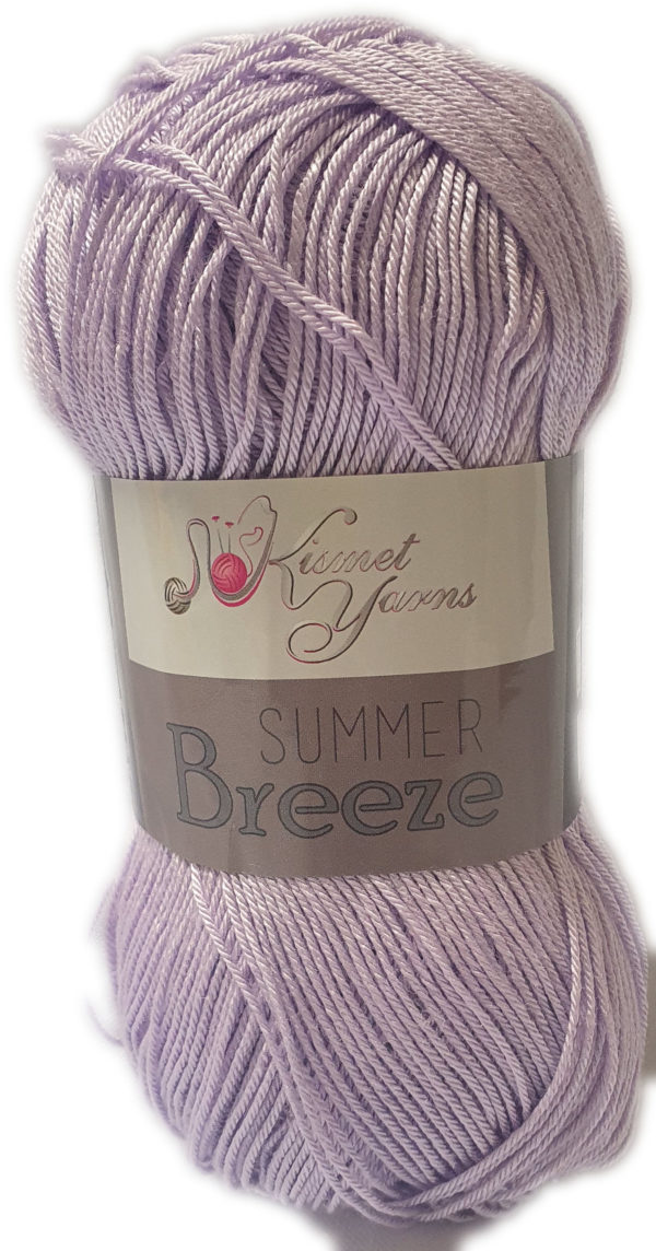 SUMMER BREEZE 100g-COL.694 LILAC 1
