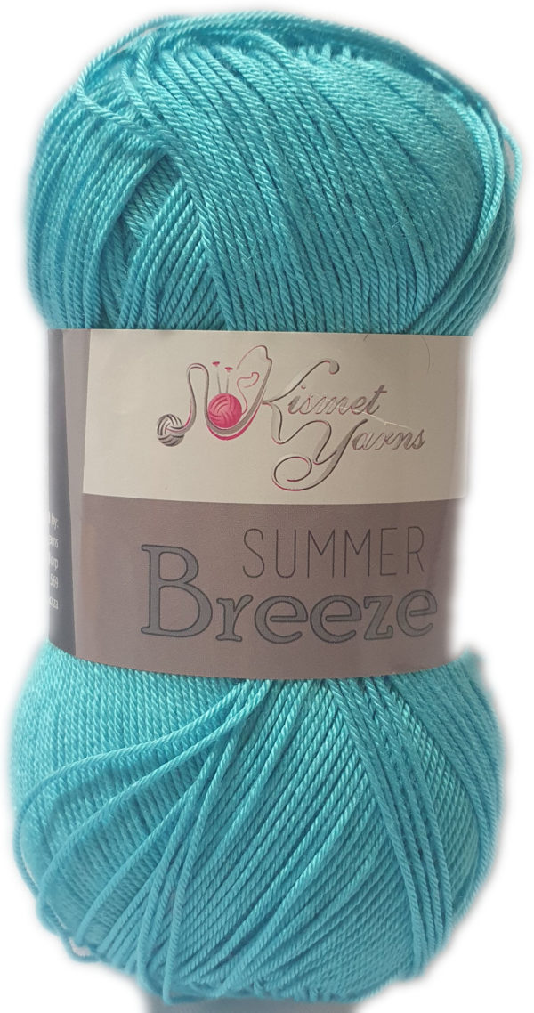 SUMMER BREEZE 100g-COL.695 TURQUOISE 1