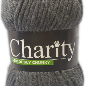 CHARITY SERIOUSLY CHUNKY 150g-COL.051 SCHOOL GREY 2