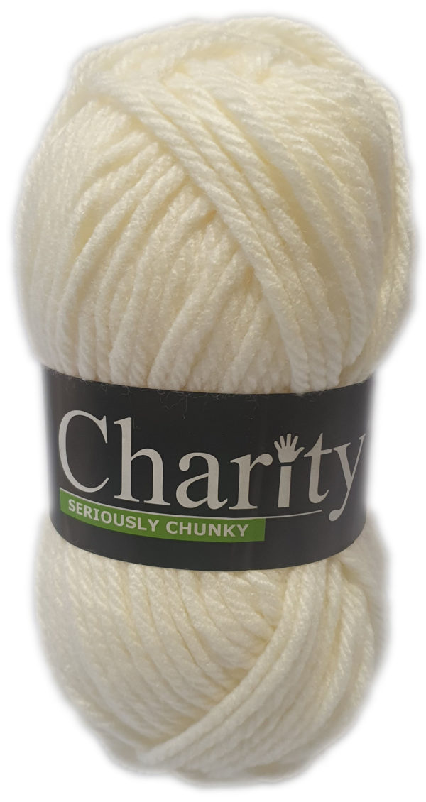 CHARITY SERIOUSLY CHUNKY 150g-COL.105 PORCELAIN 1