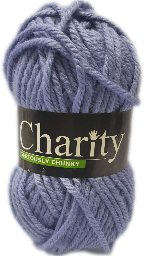 CHARITY SERIOUSLY CHUNKY 150g-COL.134 MAUVE 1