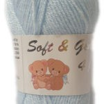 SOFT & GENTLE 4 PLY 50g-COL.BB4 OPTICAL WHITE 3