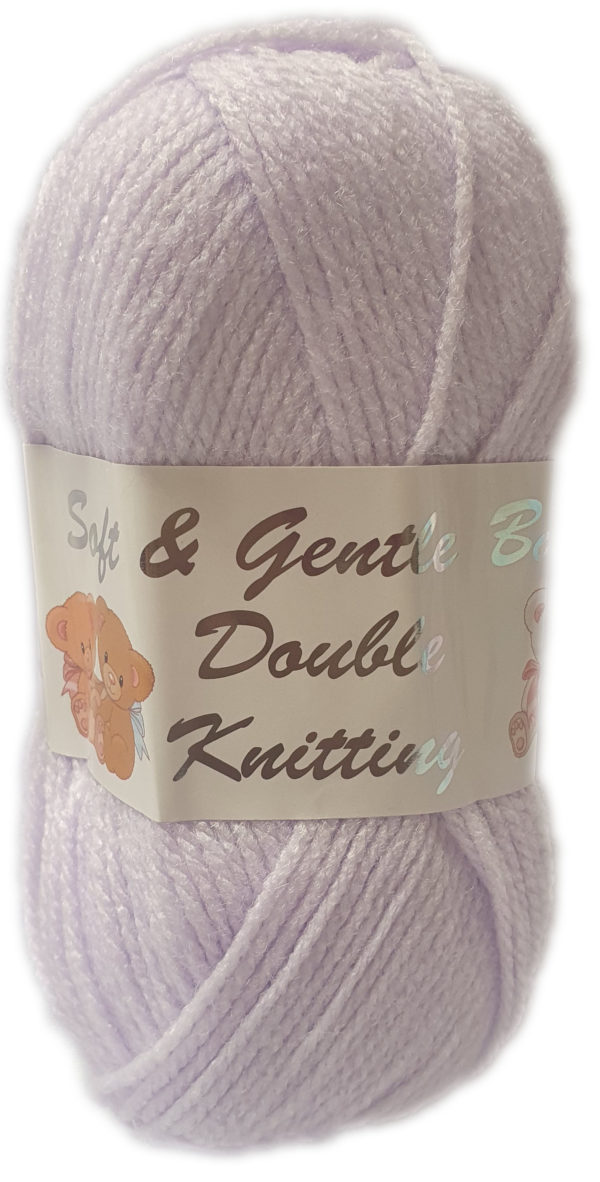 SOFT & GENTLE D.K 50g-COL.BB3 PALE LILAC 1
