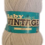 BABY VINTAGE 4 PLY 100g-COL.176 BOSSOM 2