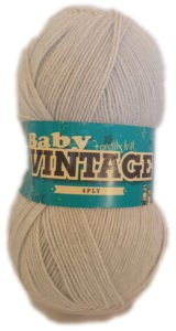BABY VINTAGE 4 PLY 100g-COL.117 WHISKER 4