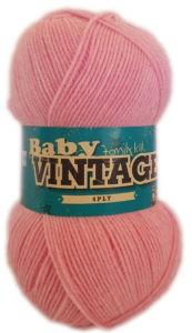 BABY VINTAGE 4 PLY 100g-COL.176 BOSSOM 4