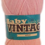 BABY VINTAGE 4 PLY 100g-COL.176 BOSSOM 3