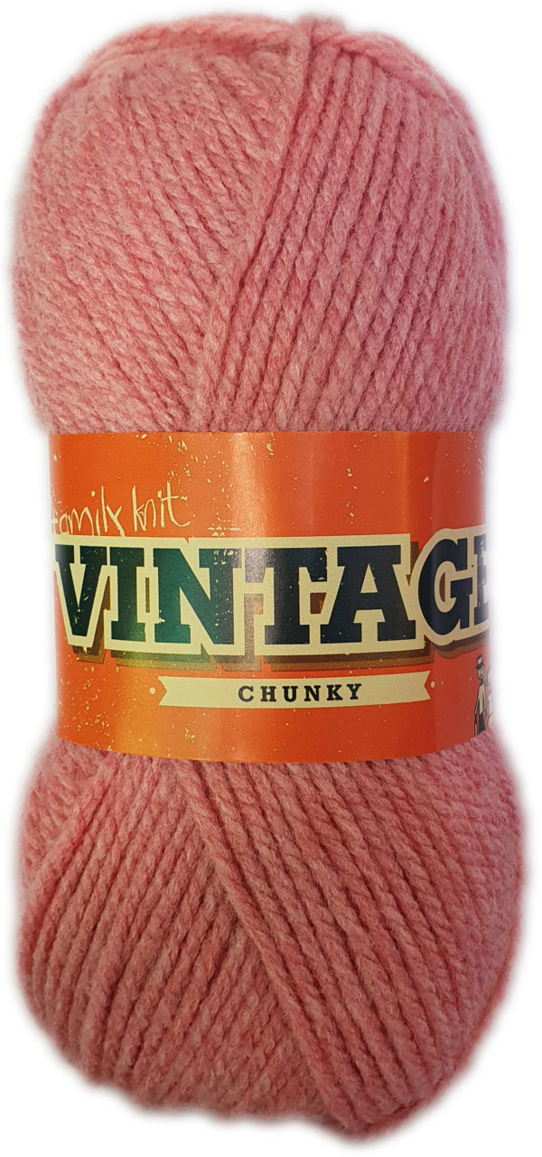 VINTAGE CHUNKY 100g-COL.242 SUNKIST CORAL 1