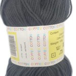 COFFEE COTTON D.K 100g-COL.MILITARY 3