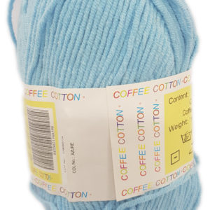COFFEE COTTON D.K 100g-COL.AZURE 9
