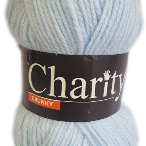 CHARITY CHUNKY 100g-COL.003 CLOUD BLUE 4