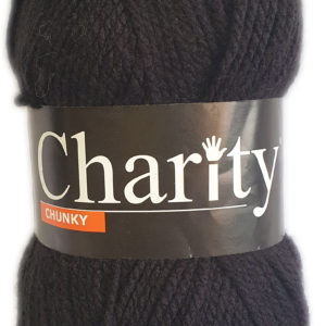 CHARITY CHUNKY 100g-COL.017 BLACK 8