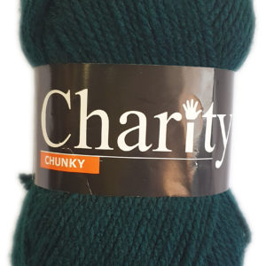 CHARITY CHUNKY 100g-COL.024 BOTTLE GREEN 10