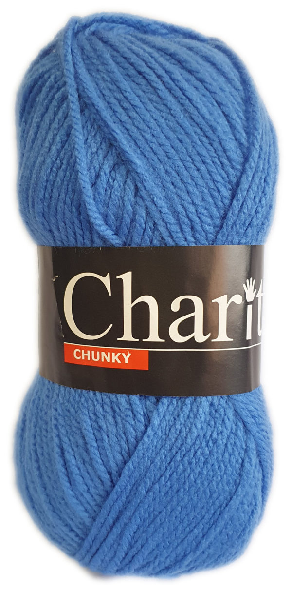 CHARITY CHUNKY 100g-COL.058 SAXE BLUE 1