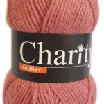 CHARITY CHUNKY 100g-COL.169 CHERRY RED 2