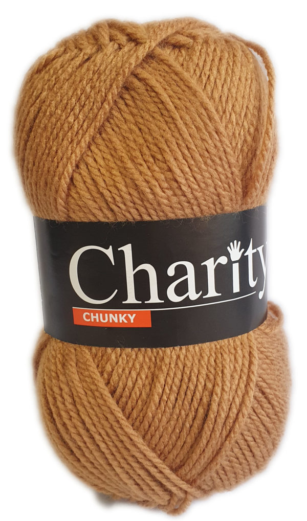 CHARITY CHUNKY 100g-COL.145 CAMEL 1