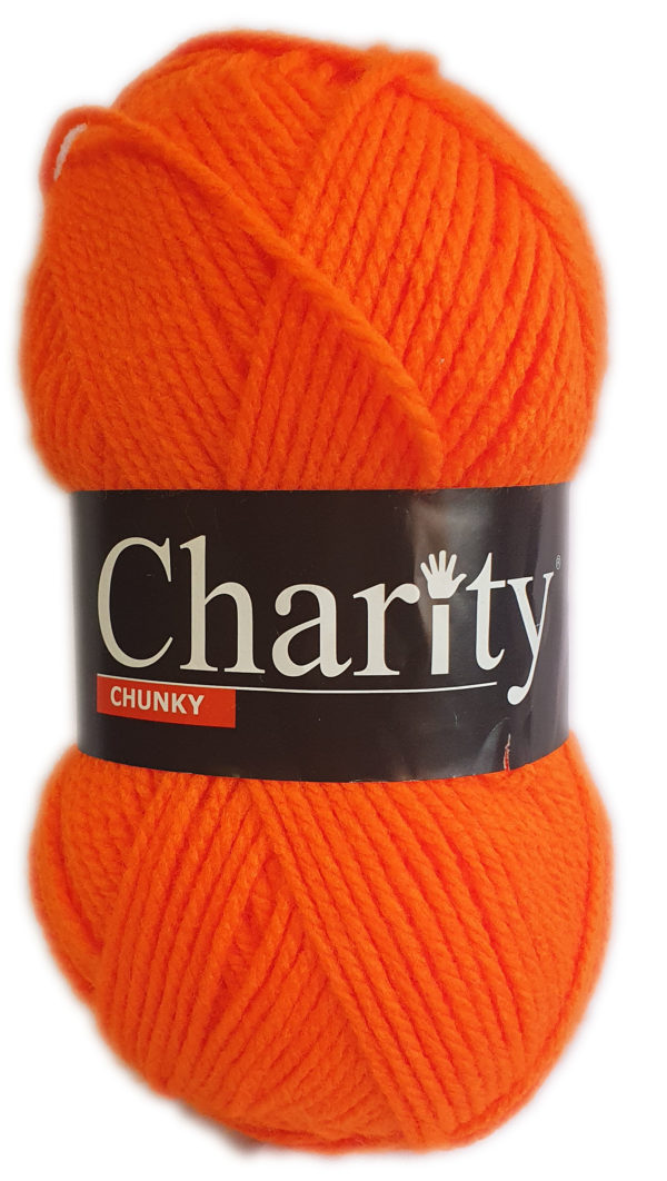 CHARITY CHUNKY 100g-COL.148 SUNSET 1