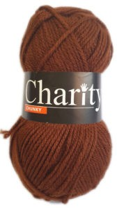 CHARITY CHARITY 100g-COL.MARRON BROWN 4