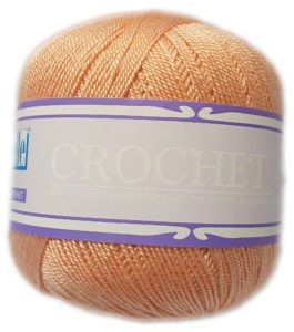 CROCHET No.5 50g-COL.104 PEACH 4