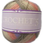 CROCHET No.5 100g-COL.704 LARKSPUR 2