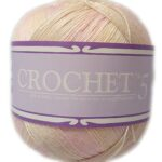 CROCHET No.5 100g-COL.704 LARKSPUR 3