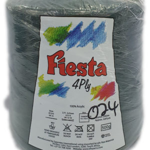 FIESTA 4 PLY CONE 500g-COL.024 BOTTLE GREEN 11