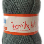 FAMILY KNIT CHUNKY 50g-COL.369 FROSTED CHERRY 2