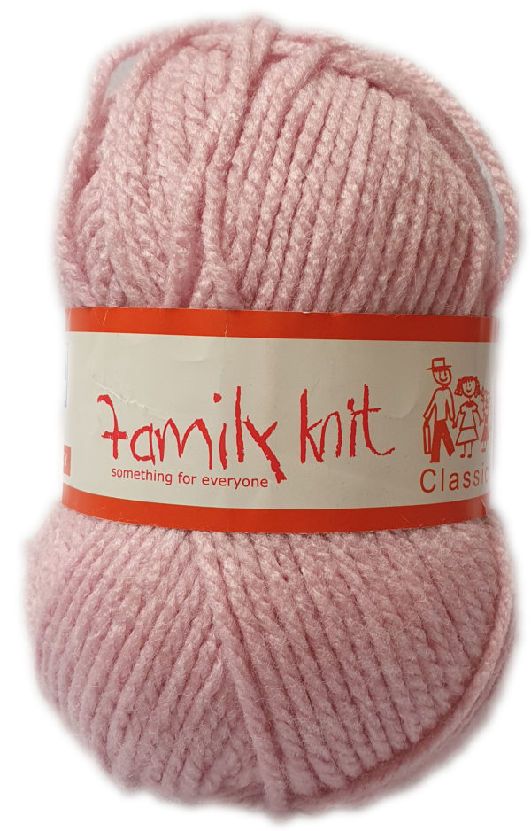 FAMILY KNIT CHUNKY 50g-COL.353 ROSE 1
