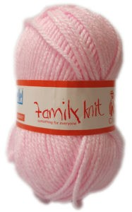 FAMILY KNIT CHUNKY 50g-COL.304 TOUCH OF PINK 4