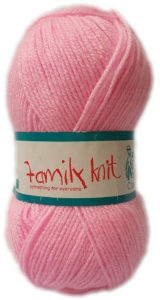 FAMILY KNIT 4 PLY 50g-COL.004 JUST PINK 4
