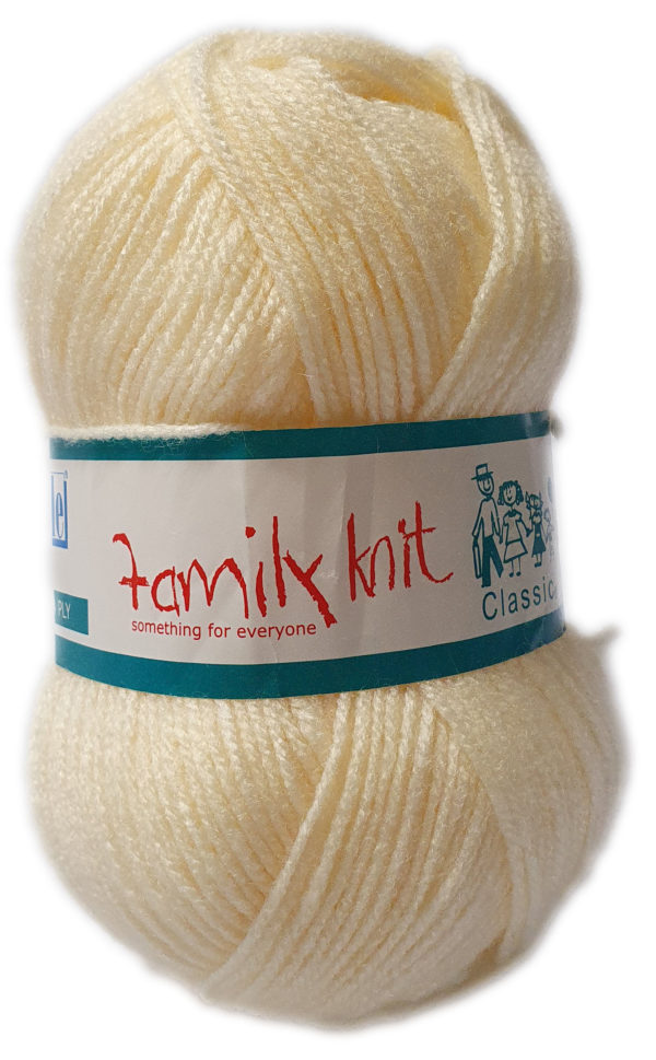 FAMILY KNIT 4 PLY 50g-COL.014 ARAN 1