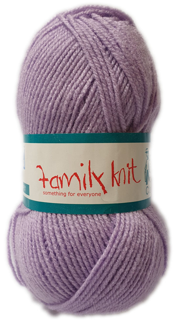 FAMILY KNIT 4 PLY 50g-COL.032 CROCUS 1