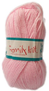 FAMILY KNIT 4 PLY 50g-COL.042 SHELL PINK 4