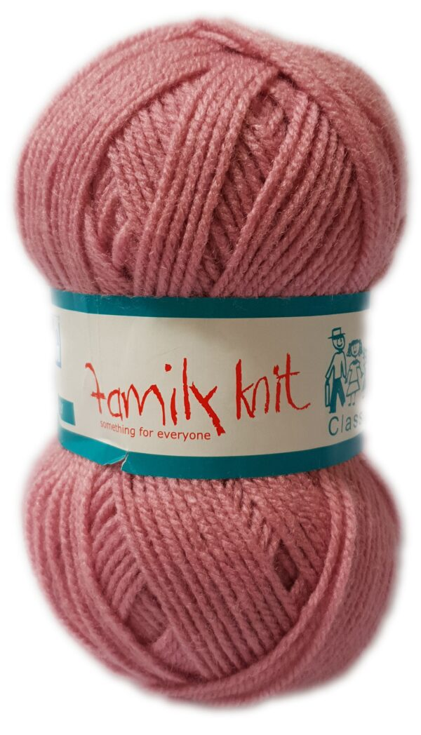FAMILY KNIT 4 PLY 50g-COL.053 PALE ROSE 1