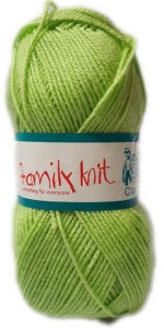 FAMILY KNIT 4 PLY 50g-COL.081 LIMEDROP 4