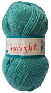 FAMILY KNIT 4 PLY 50g-COL.223 DUCK EGG 4