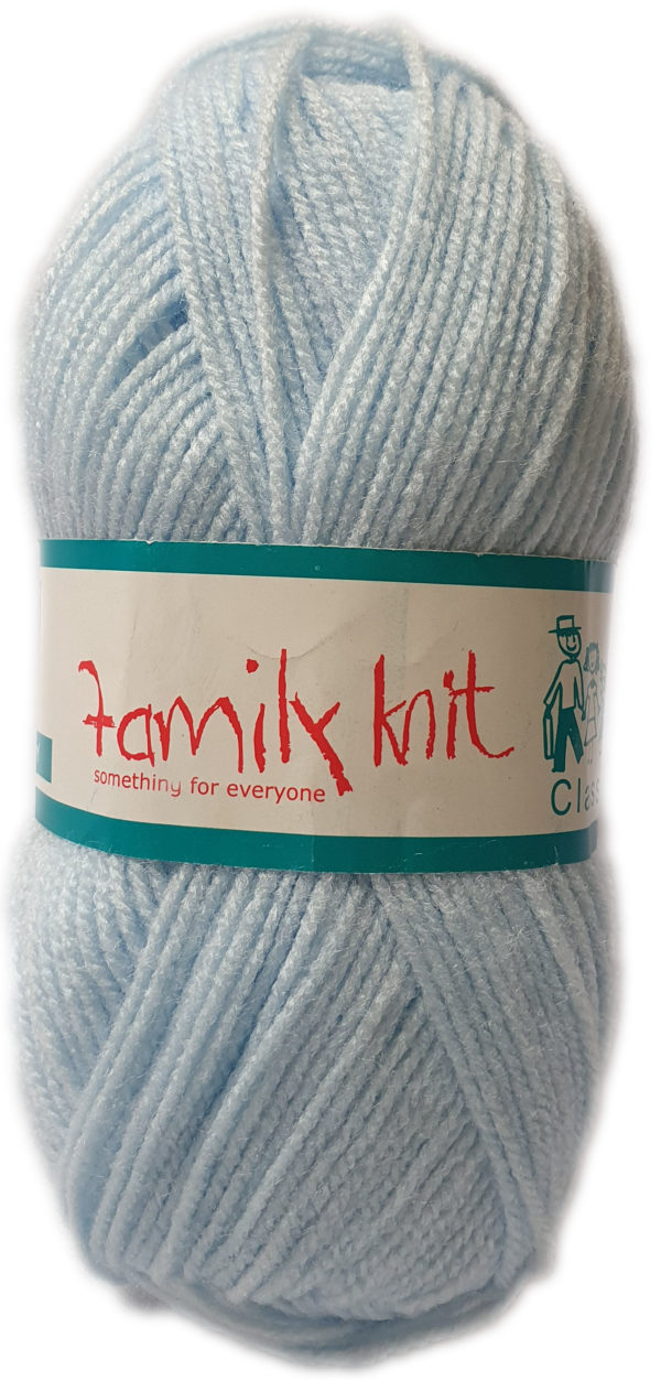 FAMILY KNIT 4 PLY 50g-COL.303 CLOUD BLUE 1