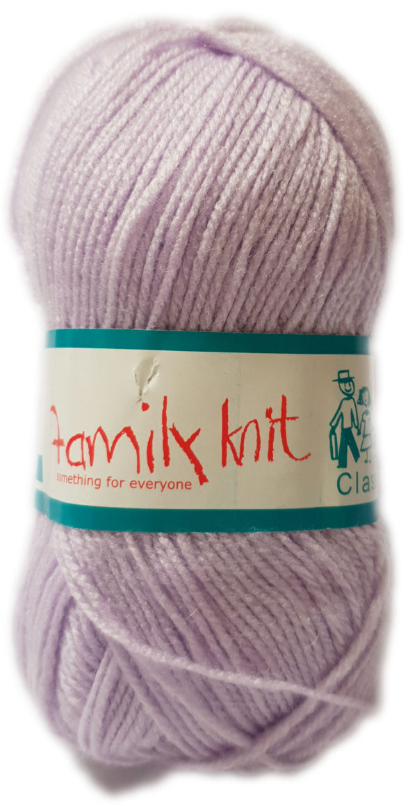 FAMILY KNIT 4 PLY 50g-COL.332 ICED CROCUS 1