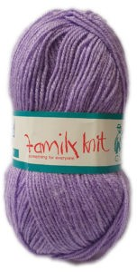 FAMILY KNIT 4 PLY 50g-COL.364 SWEET VIOLET 4