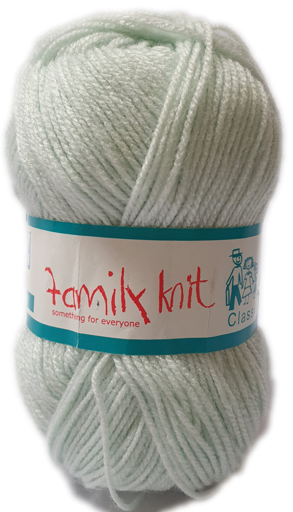 FAMILY KNIT 4 PLY 50g-COL.374 CRYSTAL MOON 1