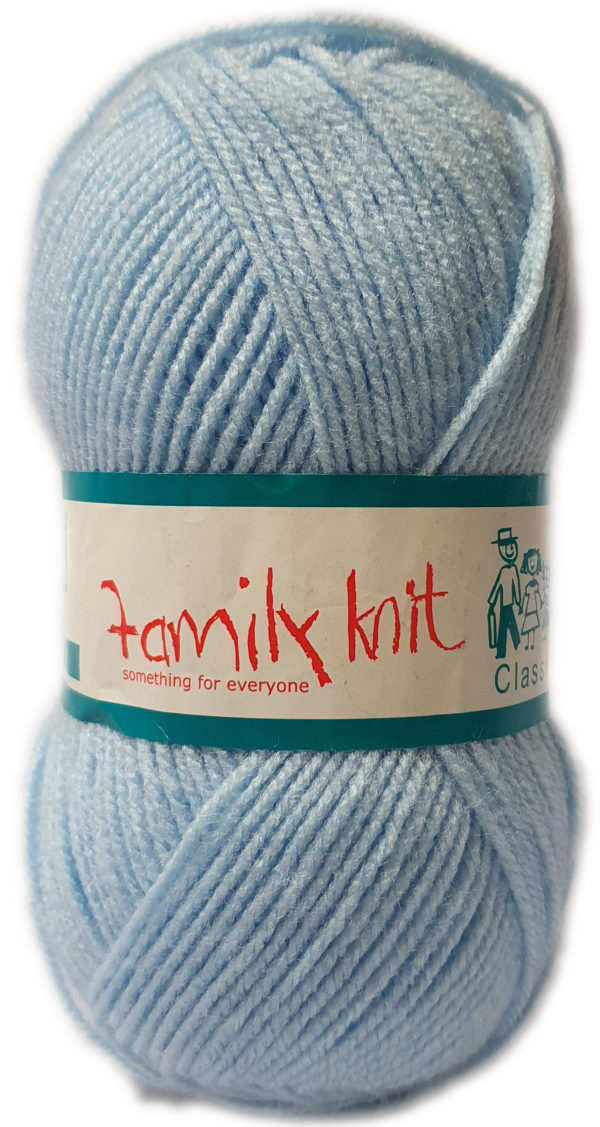 FAMILY KNIT 4 PLY 50g-COL.403 CLOUDLESS SKY 1