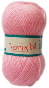 FAMILY KNIT 4 PLY 50g-COL.404 MELLOW PINK 4