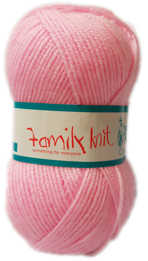 FAMILY KNIT 4 PLY 50g-COL.404 MELLOW PINK 1
