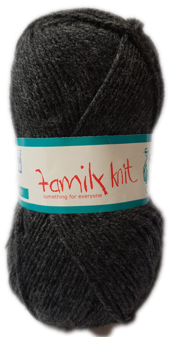 FAMILY KNIT 4 PLY 50g-COL.417 ASH 1