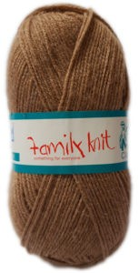FAMILY KNIT 4 PLY 50g-COL.449 OLD BROWN 4