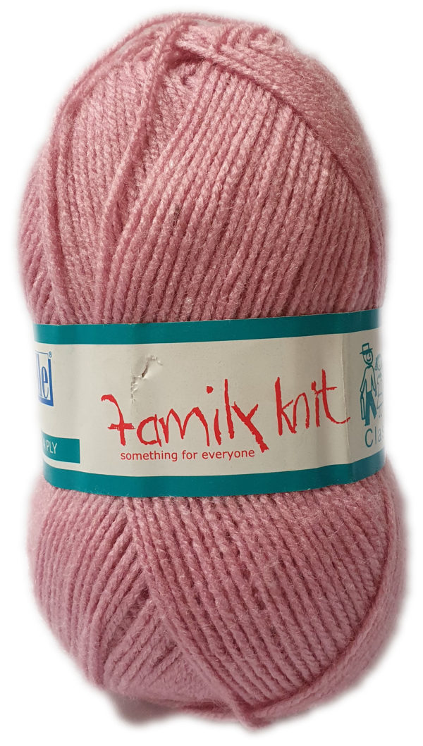 FAMILY KNIT 4 PLY 50g-COL.453 DUSTY ROSE 1