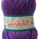 FAMILY KNIT 4 PLY 50g-COL.404 MELLOW PINK 3